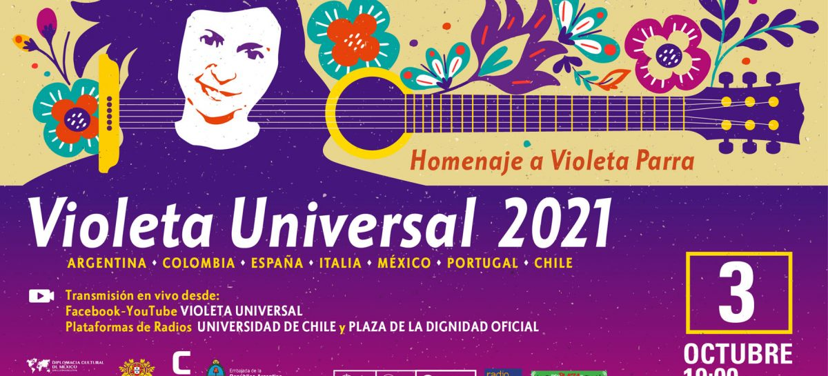 Radio Universidad de Chile transmitirá homenaje internacional en conmemoración del natalicio de Violeta Parra